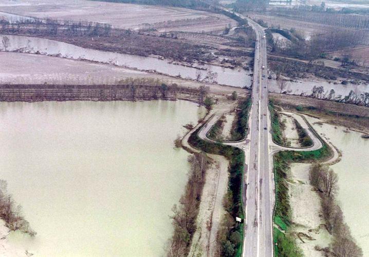 IMMAGINE dell'alluvione del 1994 ad ASTI