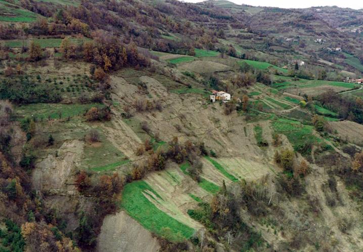 IMMAGINE dell'alluvione a ROASCIO (CN)