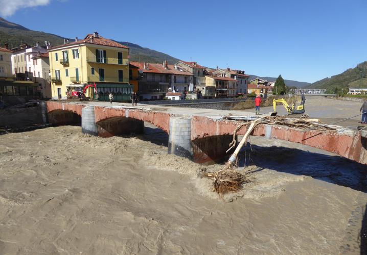 ciò che resta del ponte Odasso