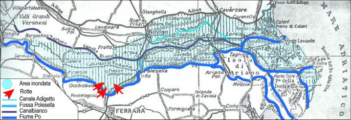 area inondata