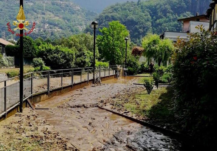 Dissesti in provincia di Lecco - immagine di Dervio (GE)